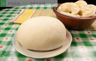 Aluatul pentru găluște cu cartofi este diferit. Retete de găluște cu cartofi, din aluat pe apă, lapte, smântână, kefir și bulion