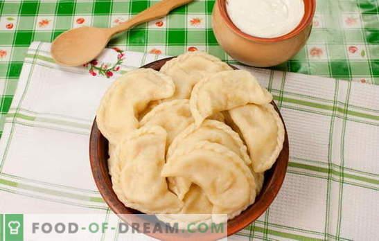Găinuțele cu cartofi și untură este o adevărată bucurie ucraineană. Rețete reci de gătit cu cartofi și șuncă