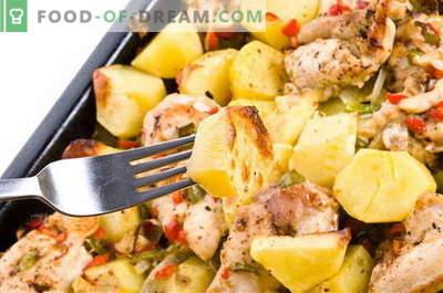 Cartofi cu carne - cele mai bune retete. Cum să gătiți cartofi cu carne în mod corespunzător și gustos.