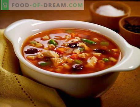Supa Solyanka - cele mai bune retete. Cum să supa de supă în mod corespunzător și gustoasă.