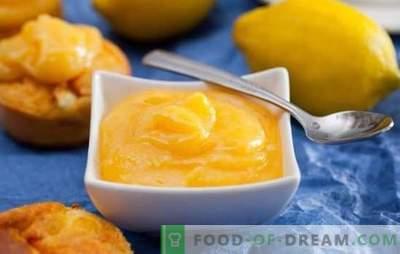 Lemon Kurd este o cremă uimitoare de citrice. Retete Ideale pentru Kurdul de Lămâie Aromatică pentru micul dejun, coacere, deserturi