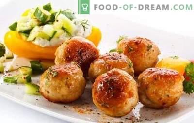 Chiftele de carne de porc - o masă profitabilă! Rețete de diferite chifteluțe cu carne de porc și legume, ciuperci, orez, hrișcă, brânză