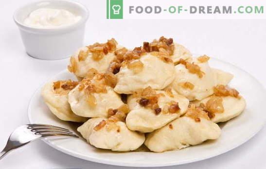 Găleți cu cartofi brute - mai bun, mai puțin agitat. Retete de găluște cu cartofi brute și șuncă, tocate