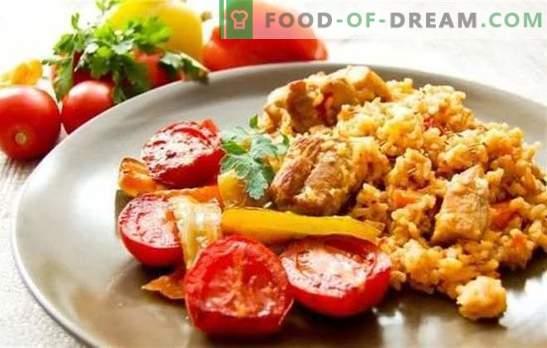 Pilaf uzbec cu porc - hrănit, parfumat, gustos. Secretele și succesul diferitelor rețete de pilaf Uzbek cu carne de porc