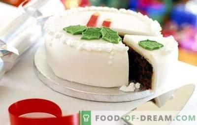 Glazura albă este o decorare elegantă de copt. Gătiți-vă acasă și decorați-vă cu gheață albă orice fel de patiserie