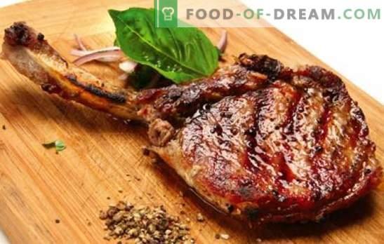 Oase de porc - rețete pentru cea mai delicioasă carne. Cum să gătești carnea de porc pe osul cuptorului, în ghiveci și pe aragaz
