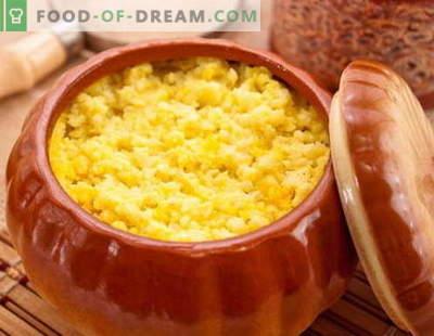 Pompoenpap - de beste recepten. Hoe goed en smakelijk pompoenpapoen koken.