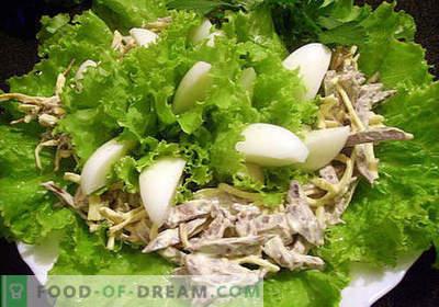 Salată de inimă de porc - cele mai bune rețete. Cum să gătești în mod corespunzător și gustos o salată de inimă de porc.