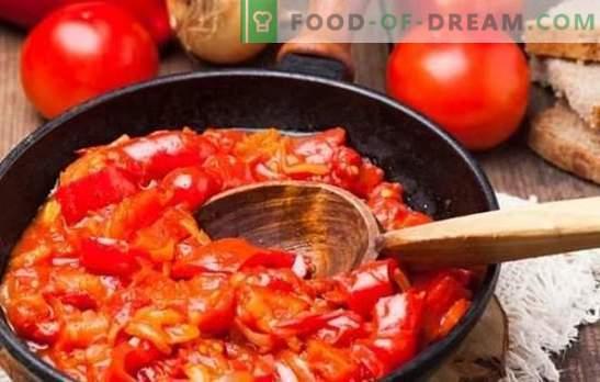 Gustări ungurești - o revoltă de gust, magia culorii! Rețete luminoase aperitive maghiare de piper, roșii, ouă, brânză de vaci, dovlecei