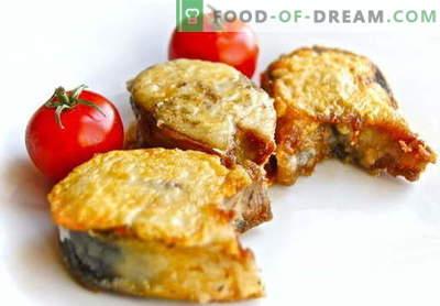 Praetud makrell - parimad retseptid. Kuidas õigesti ja maitsev küpsetada makrelli praad.