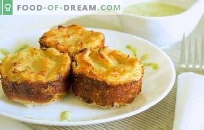 Aluat de cartofi cu carne tocată în cuptor: caserolă sau plăcintă? Gătitul de găină nutritivă, simplu și gustos de cartofi cu carne tocată în cuptor
