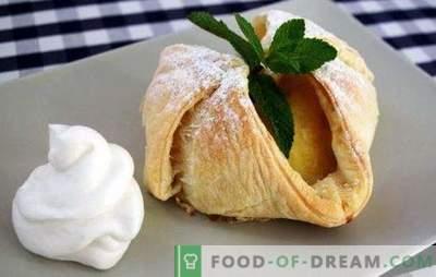 Mere copt în aluat - original! Rețete pentru merele coapte în patiserie, pâine scurtă, drojdie