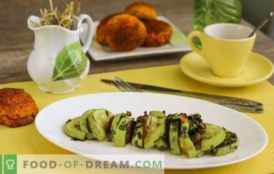 Zucchini reteta rapida dietetica - cum sa slabesti cu placere? Zucchini dieta: reteta rapida in cuptor, multicooker