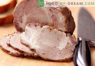 Carne de porc de casă - cele mai bune rețete. Cum să gătești corect și gustos carnea de porc la domiciliu.