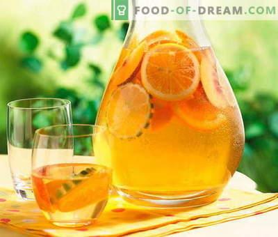 Compote din portocale - cele mai bune rețete. Cum să compot corect și gustos de portocale.