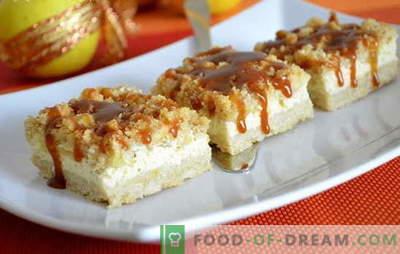 Cheesecake fără brânză de vaci: idei noi pentru un desert popular. Rețete de brânză reteta fără brânză de vaci cu smântână, mascarponă, smântână, brânză