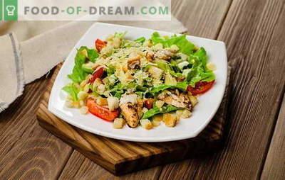 Salate gustoase în grabă: simplu nu înseamnă