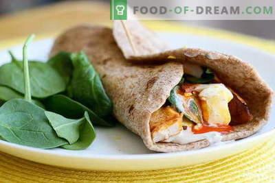 Chicken Burrito - cele mai bune retete. Cum să gătești în mod corect și gustos burrito cu pui.