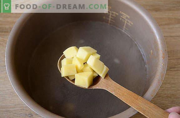 Supă cu varză proaspătă într-un aragaz lent: rapid, ușor, gustos! Reteta foto-reteta a varfului de gatit din varza proaspata intr-un aragaz lent