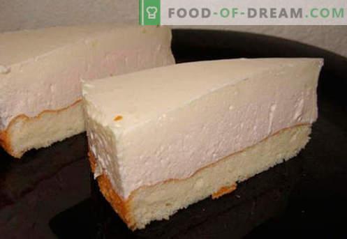 Cream soufflé - cele mai bune retete. Cum să rapid și gustoase sufla crema de gatit.