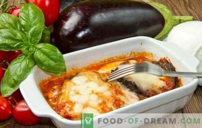 Lasagna de vinete - oh, mamă mia! Rețete lasagna italiană cu vinete și carne tocată, roșii, ciuperci, dovlecei