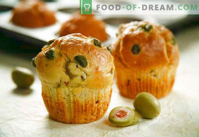Muffins: ciocolată, banană, brânză, kefir - cele mai bune rețete. Cum să coaceți brioșele cu umpluturi la domiciliu.