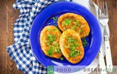 Patties fără carne - o varietate de arome! Rețete de chifteluțe fără carne: morcov, varză, cartof, ovăz, porumb, legume, orez