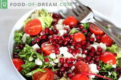 Salata de rodie cu pui - cele mai bune retete. Cum să gătești în mod corect și gustos salată de rodii cu pui.