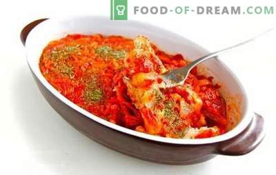 Cea mai simplă rețetă pentru tocanul de pește cu morcovi și ceapă. Diferite tocană de pește cu morcovi și ceapă - o surpriză delicioasă pentru cei dragi