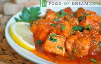 Bucătarii de pui sunt cele mai bune rețete. Cum să gătești chakhokhbili de la pui.