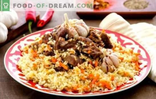 Pilaf Uzbek (rețetă pas-cu-pas) este un fel de mâncare orientală tradițională. Retete pas-cu-pas pentru pilaf uzbec cu carne de vită și porc