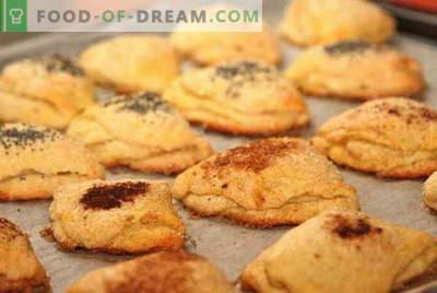 Cookie-urile de brânză de casă sunt cele mai bune rețete. Cum să gătiți bine și gustoase cookie-urile din brânză de vaci.