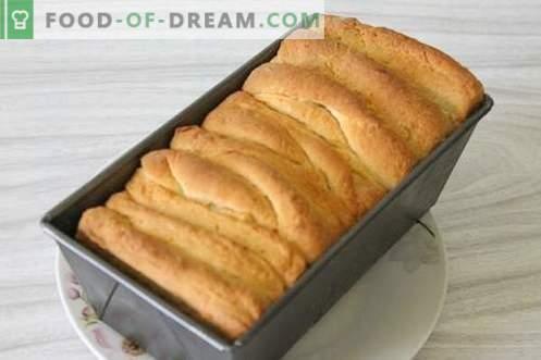 Coacem acasă o pâine italiană unică cu unt. Ideal pentru sandvișuri și toasturi!