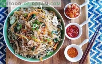 Funchoza rețetă pas-cu-pas - magia bucătăriei orientale. Funchoza: o rețetă pas cu pas pentru o gustare, un curs principal, o salată