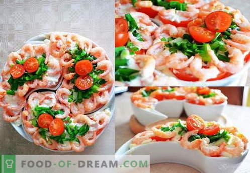 Salata Neptun - cele mai bune retete. Cum să gătești corect și gustos salata