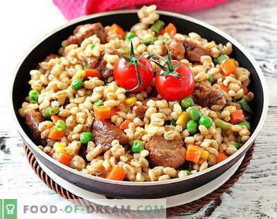 Orz de carne - cele mai bune retete. Cum să gătești în mod corect și gustos carne de orz.