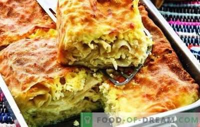 Achma din pita cu brânză - da, da, da! Mai ușor nu plăcintă! Rețete și de a construi pita leneș din pita cu brânză