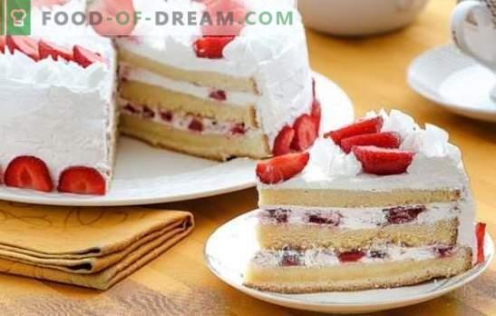 Cremă de tort de burete: cele mai bune rețete. Alegeți o rețetă pentru tortul de biscuiți și dați-i un desert un gust unic!