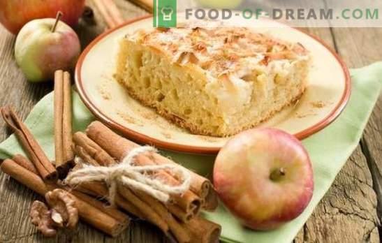 Charlotte cu mere și scorțișoară este un tort preferat într-un mod nou. Cum să gătești o carlotte cu mere și scorțișoară: idei noi