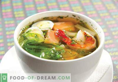 Supa Miso - retete dovedite. Cum să gătești în mod corespunzător supa miso.