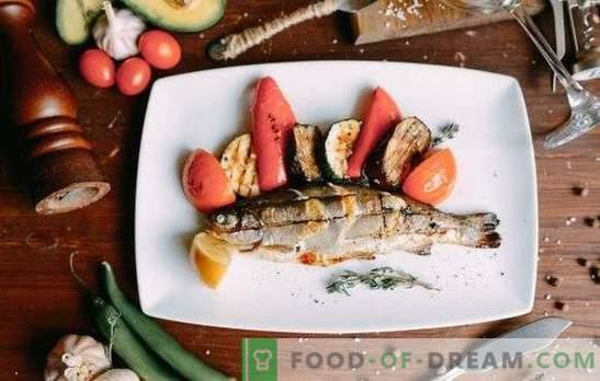 Păstrăv la grătar - pește uimitor! Cele mai bune marinate cu lămâie, vin, sos de soia, fenicul, portocale pentru păstrăv la grătar