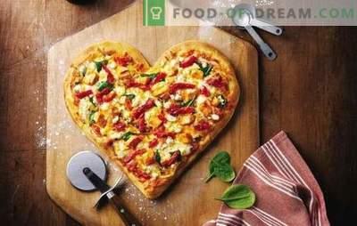 A pizza de maionese é um prato favorito sem complicações. Uma seleção de receitas para massa de pizza em maionese