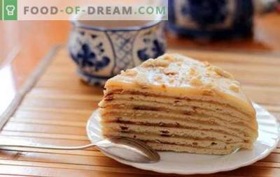 Tort de minute - rapid și gustos! Rețete simple pentru miere, smântână, puf și tort de brânză de vaci