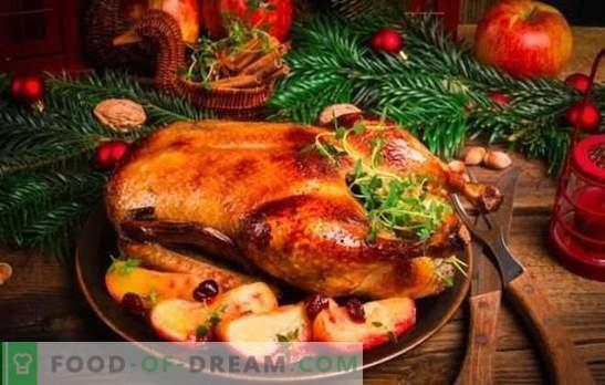 Duck cu mere: rețete pas cu pas pentru frumusețea roșie! Gătit rață suculentă, delicioasă și gustoasă cu mere folosind rețete pas-cu-pas