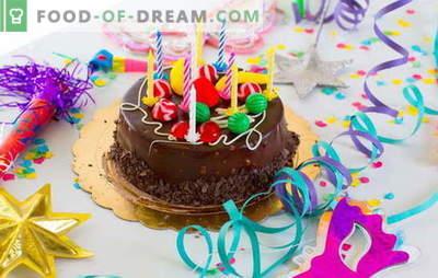 Am pregătit tortul acasă pentru ziua de naștere (fotografie)! Rețete pentru diverse prăjituri de casă cu fotografii