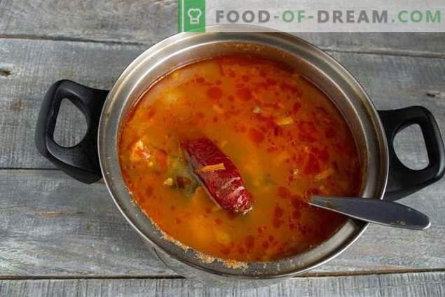 Supa de pește pollock