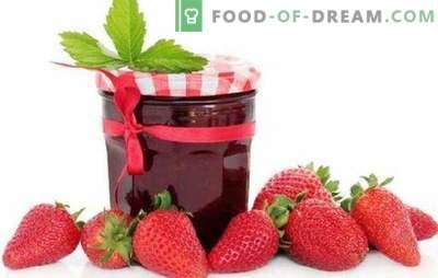 Căpșuni cu gelatină, pectină, agar-agar. Căpșuni cu mere sau zmeură: desert sau preparat pentru iarnă