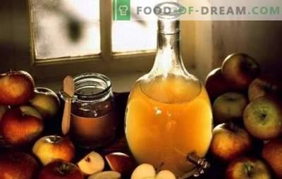 Oțet de cidru de mere: gătit la domiciliu. De ce este mai bine să gătești oțet de cidru de mere la domiciliu