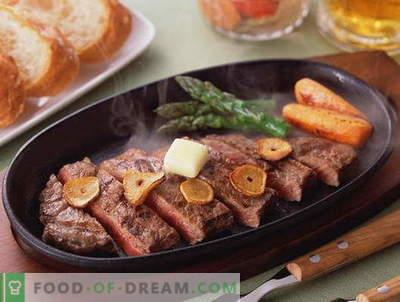 Carne prajita - cele mai bune retete. Cum să gătești carne prăjită în mod corespunzător și gustoasă.
