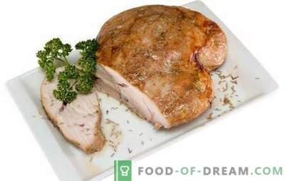 Turcia de sân - carne caldă și hrănitoare. Cele mai bune retete pentru piept de curcan: murat, folie, supa, salata, friptura, tocanita